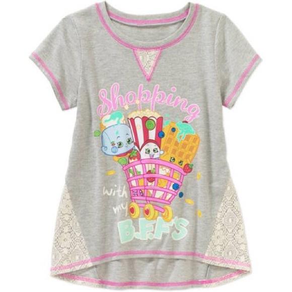 Shopkins Other - Gray Shopkins T-Shirt